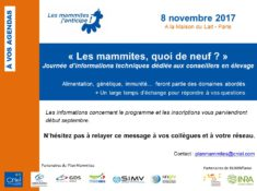 SAVE THE DATE journée mammites